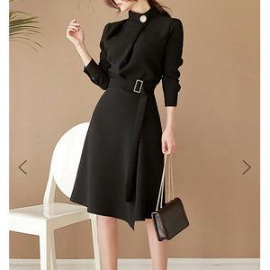 StyleWe Folds Cocktail Midi Dress - NWT - Size M